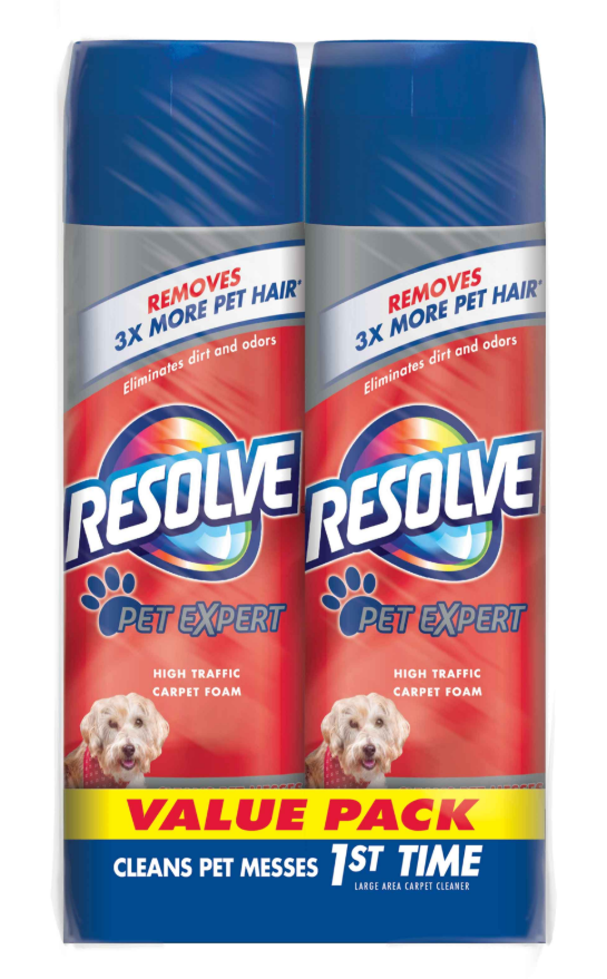 RESOLVE® Pet Expert High Traffic Carpet Foam